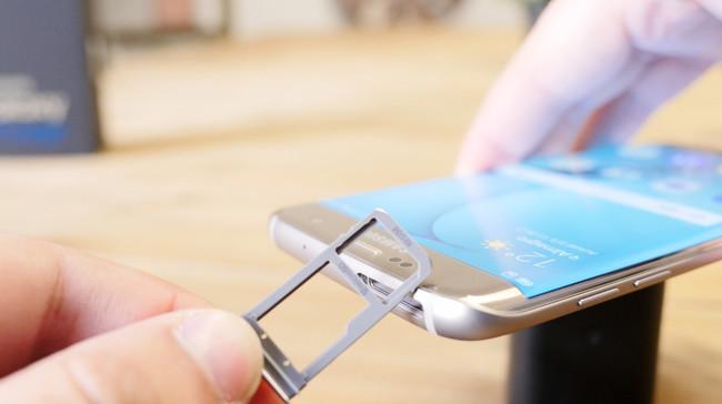Samsung Galaxy S7 edge MicroSD