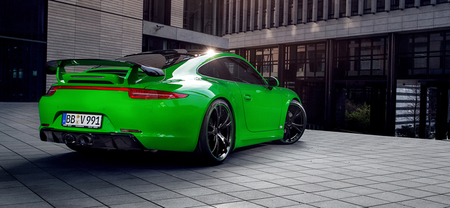 Más fotos del TechArt Porsche 911 Carrera 4S