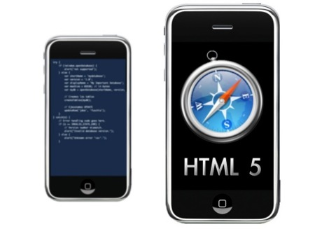 iPhone primer dispositivo móvil con soporte para HTML 5
