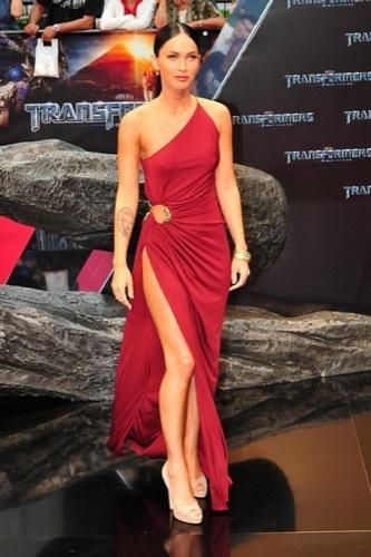 El contra-estilo de Megan Fox: Mamá, de mayor quiero ser choni, vestido