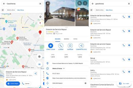 Google Maps Gasolineras Baratas 2021