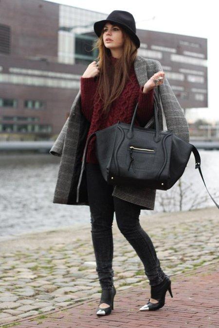 Moda en la calle: el invierno de las mil capas con abrigos (y del frío)