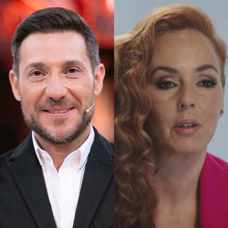 Antonio David y Rocío Carrasco