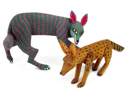 esculturas de madera Oaxaca