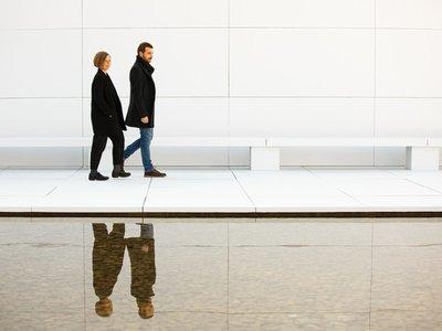 El pabellón de Barcelona de Mies Van der Rohe como nunca lo hubieras imaginado