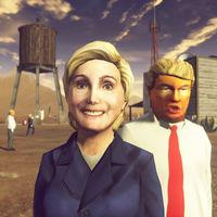 Carmageddon: Max Damage celebra Halloween  sustituyendo todos los peatones por clones de Donald Trump y Hillary Clinton