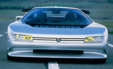 Peugeot Oxia, vista frontal