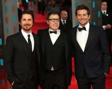 Premios Bafta 2014: los hombres supieron dar la talla en la alfombra roja