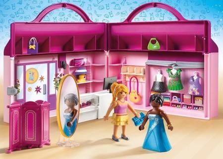 Maletin Playmobil Tienda De Moda
