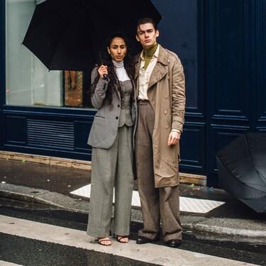 El mejor streetstyle de la semana: parejas cuyo estilo va a conjunto