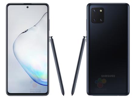 """Galaxy Note 10 Lite es real: así se vería el modelo """"más económico"""" de la familia premium de Samsung con S-Pen"""