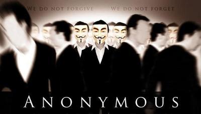 Anonymous ha iniciado un ataque para bloquear las webs de Israel