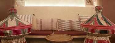 """El interior del restaurante """"Taitu"""" te traslada sutilmente al corazón de Egipto a través de su acertada decoración"""