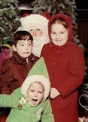 """Papá Noel puede ser """"terrorífico"""""""
