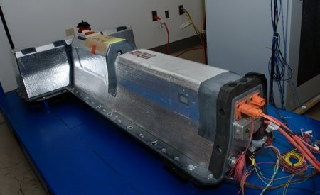 Trabajos en las baterías del Chevrolet Volt