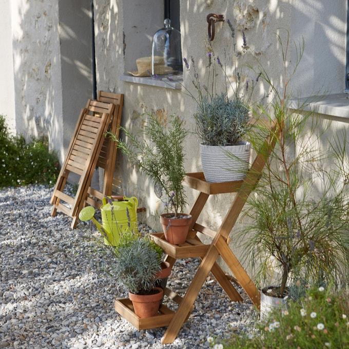 Estantería de jardín