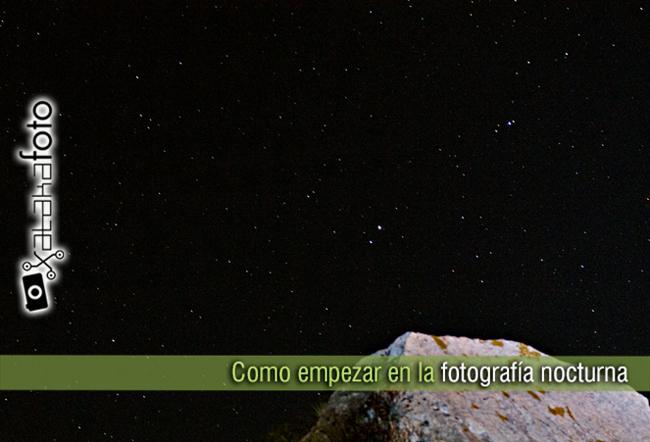 portada como empezar fotografía nocturna