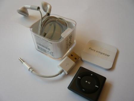 iPod shuffle 2012 contenido