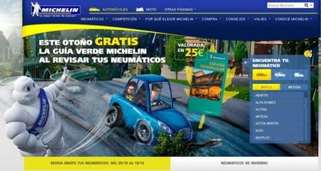 Revisa gratis tus neumáticos y llévate la guía verde Michelin