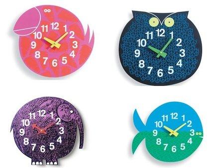 Bonitos relojes con forma de animal