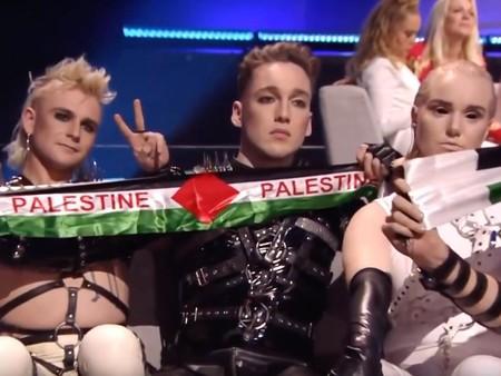 Iceland Eurovision Palestine