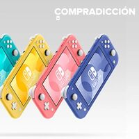 La Nintendo Switch Lite es la compañera de vacaciones ideal y en tuimeilibre la tienes por sólo 184 euros