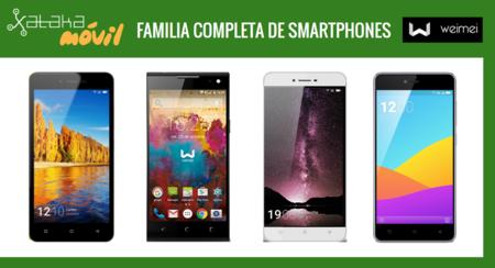 Así queda el catálogo completo de los móviles españoles Weimei