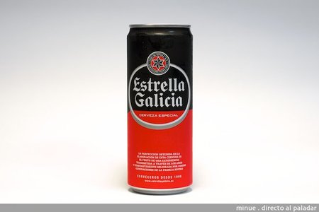 Estrella de Galicia especial. Cata de cerveza