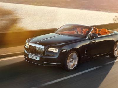 Rolls-Royce Dawn: lujo y melena al viento, para cuatro