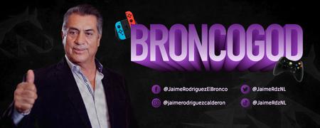"""Jaime Rodríguez """"El Bronco"""" abre su canal de Twitch en México: transmite su informe de gobierno y promete """"retas"""" de LoL y Mario Kart"""