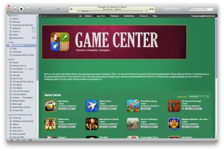 Listado de juegos compatibles con Game Center
