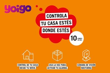 Yoigo Smart Home, nuevo servicio de alarma que podrás gestionar hablando con Alexa y escribiendo en Telegram