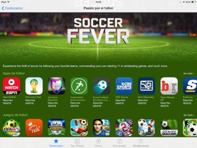 La Pasión por el Fútbol llega a la App Store