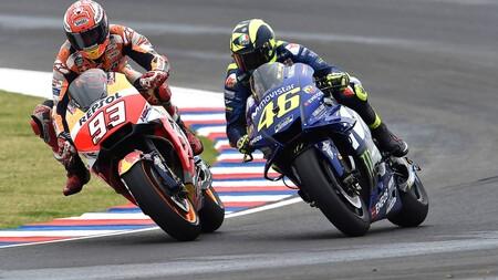 Marquez Rossi Motogp