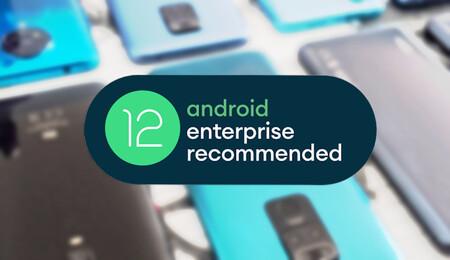 Android 12 mejora el modo trabajo en nuestros equipos: contraseñas privadas por perfil, nueva gestión de permisos y más
