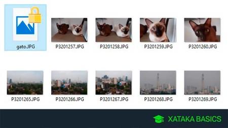 Cómo cifrar un archivo o carpeta en Windows 10