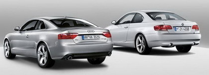 BMW Serie 3 Coupe Audi A5