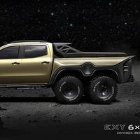 ¡Descomunal! La Mercedes-Benz Clase X se pasa a la moda 6x6 apocalíptica de la mano de Carlex Design