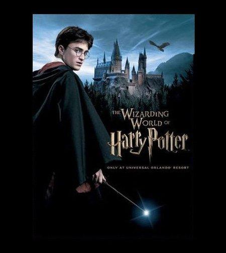 Imagen promocional del parque de atracciones de Harry Potter.