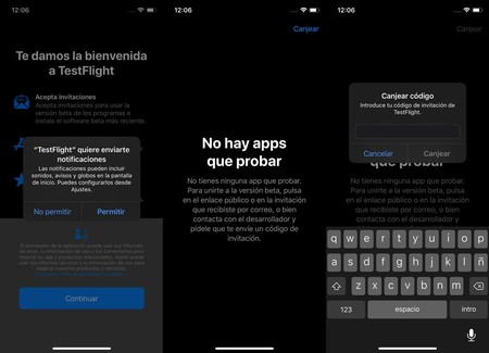 Aplicaciones Beta Iphone Testflight