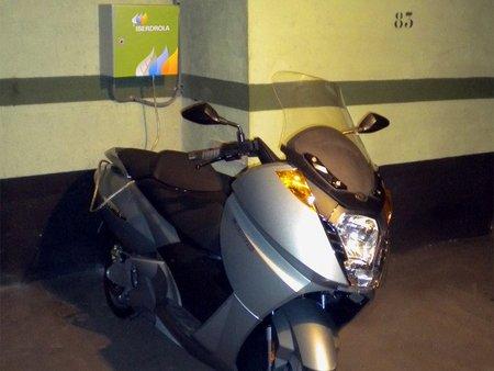 Punto de recarga coches electricos
