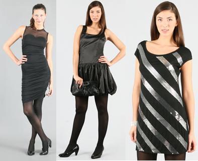 vestidos negros pimkie