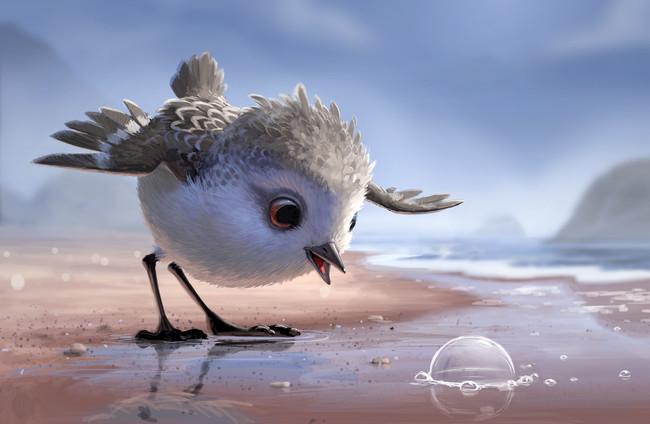 'Piper', el que es considerado el mejor corto de Pixar, ya está disponible en internet y gratis