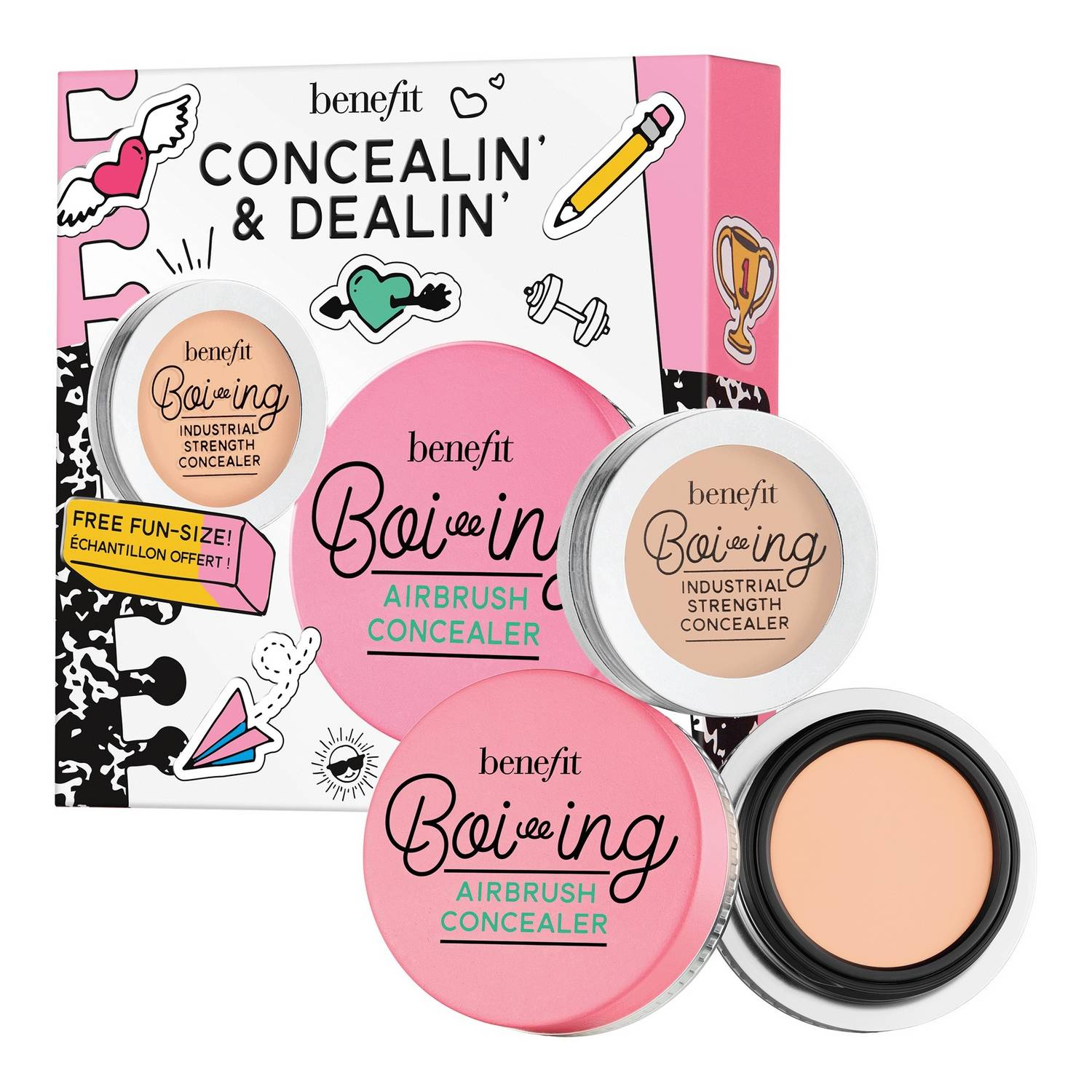 Kit de maquillaje corrector Concealin and Dealin