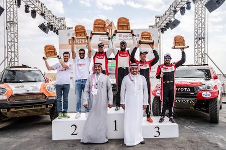 Alonso Podio Dakar 2020