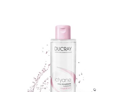 Ictyane, el agua micelar hidratante de Ducray con la que obtendremos un 10% más de hidratación después de 21 días
