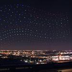 Sí, a Lady Gaga le acompañaron 300 drones de Intel para dibujar en el cielo en la Super Bowl, pero no fue en directo