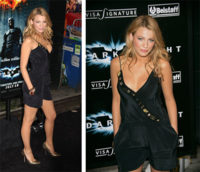 Blake Lively en la premiere de Batman The Dark Knight