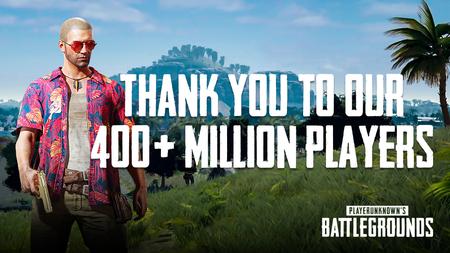 PUBG supera las 50 millones de copias en todo el mundo y los 400 millones de jugadores