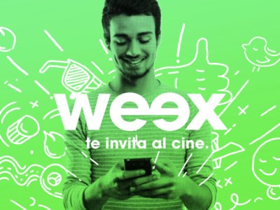 Weex no sólo ofrece megas y paquetes, ahora también tiene boletos para el cine